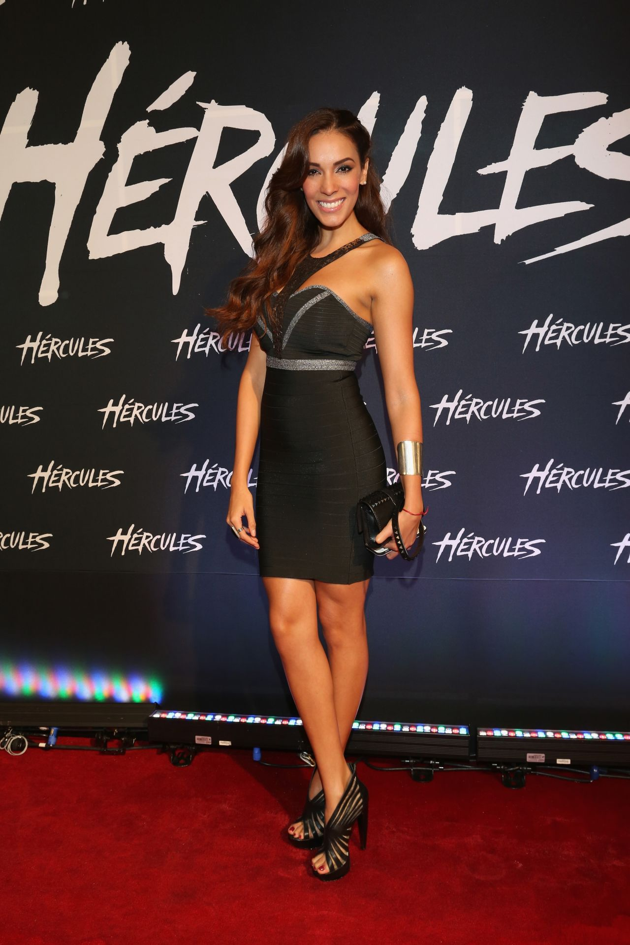 Carolina Moran Hercules Premiere In Mexico City