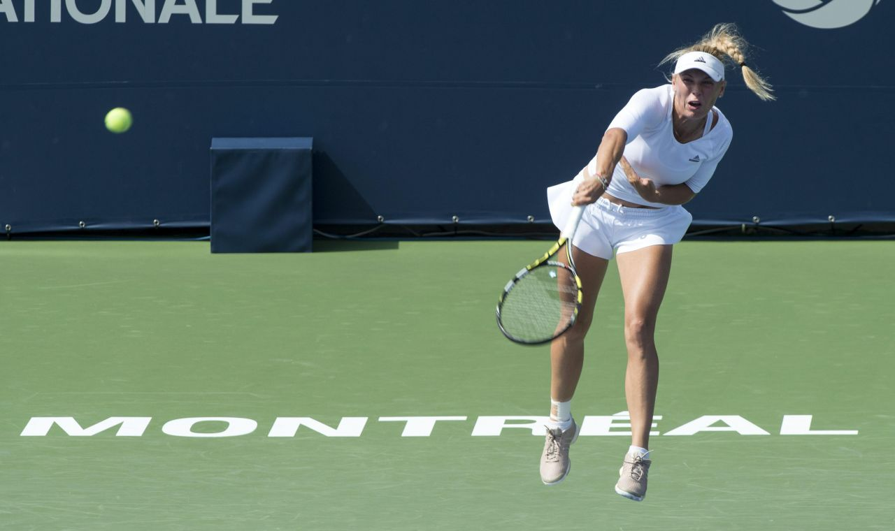 Caroline Wozniacki – Rogers Cup 2014 in Montreal, Canada – 1st Round