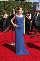 Carrie Preston - 2014 Creative Arts Emmy Awards