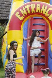 Casey Batchelor in Slide Park in Essex - July 2014