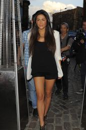 Casey Batchelor - Prive Blue Champagne Party at Gilgamesh Bar in London