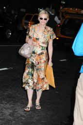 Cate Blanchett Arrives at New York City Center for Her Play