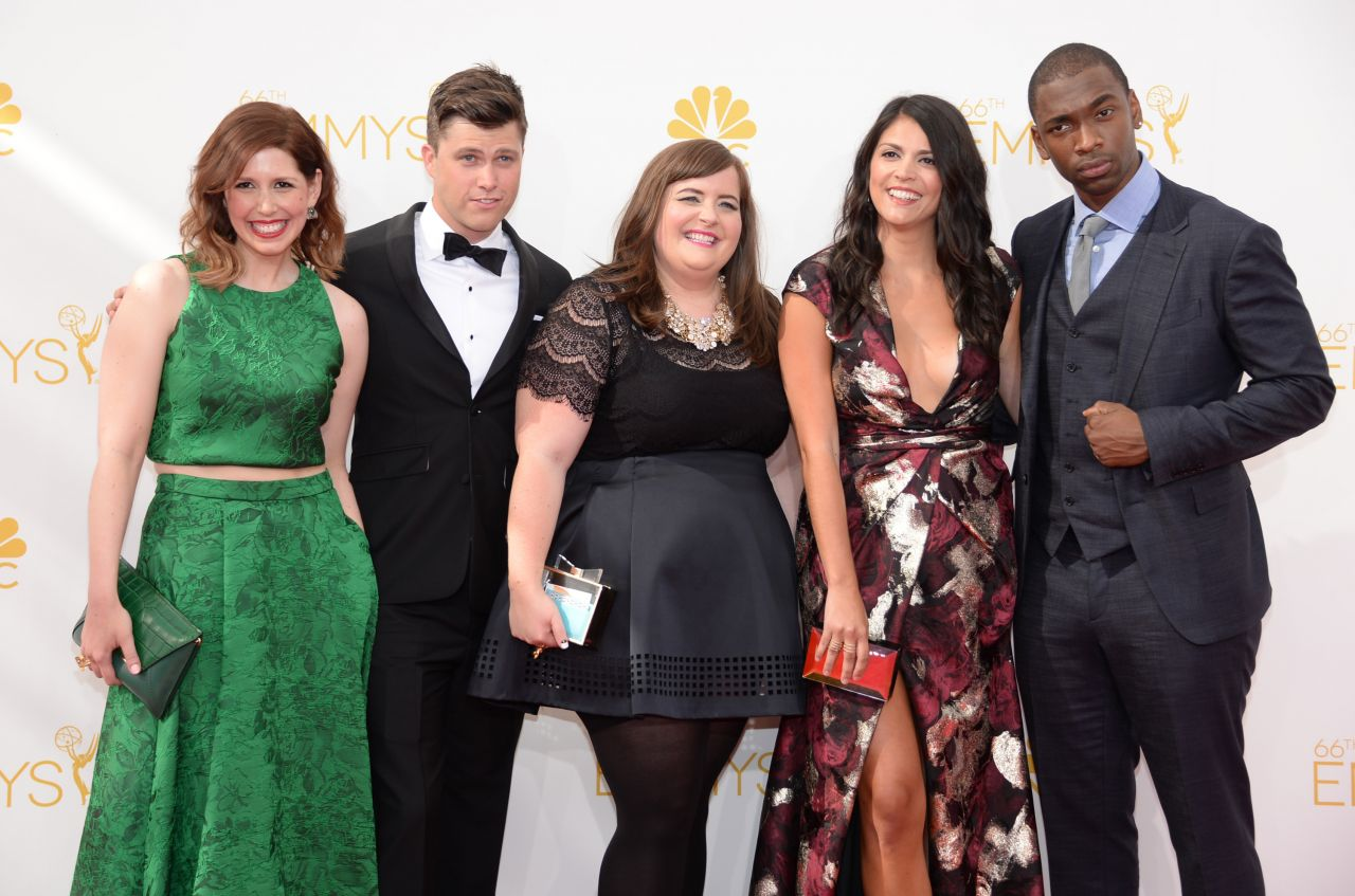 Cecily Strong & Vanessa Bayer - 2014 Primetime Emmy Awards