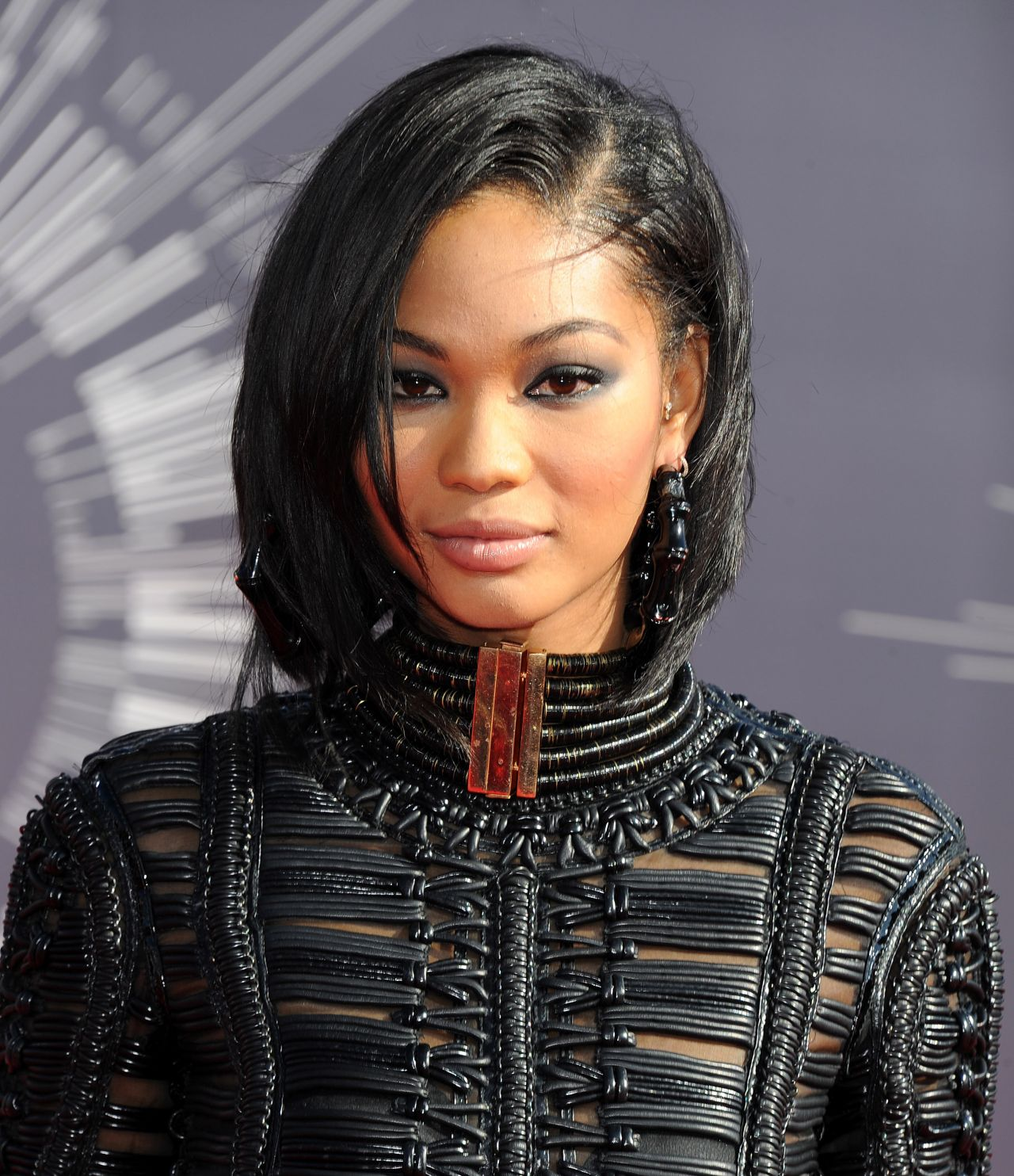 chanel iman 2014 mtv video music awards in inglewood