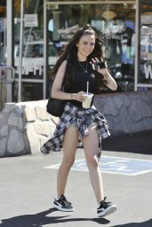 Cher Lloyd Shows off Her Legs - Leaving Mel