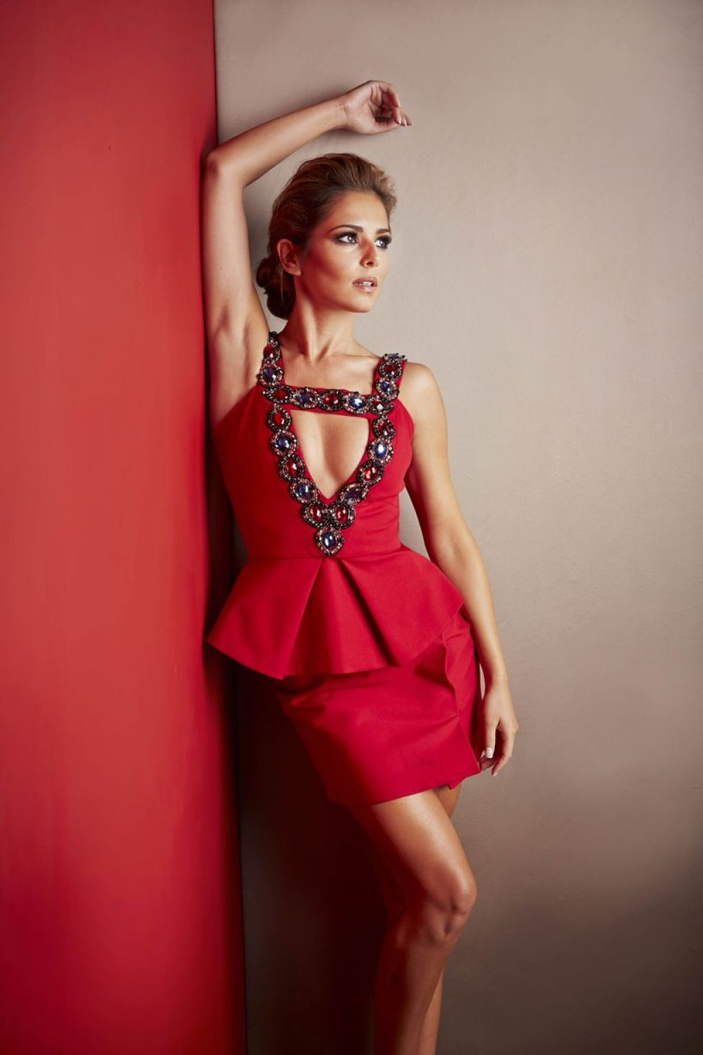 Cheryl Fernandez-Versini Photoshoot – The X Factor 2014 Promos