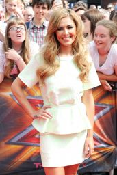 Cheryl Fernandez-Versini – X Factor Auditions in London – August 2014