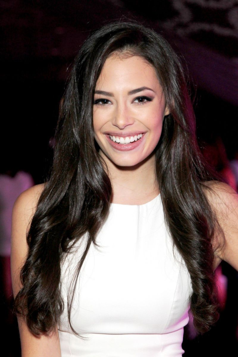 Chloe Bridges Nyx Face Awards 2014 In Los Angeles