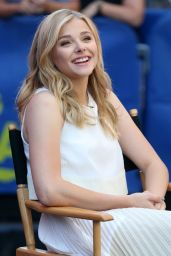 Chloe Moretz Appeared on Good Morning America in NYC - August 2014