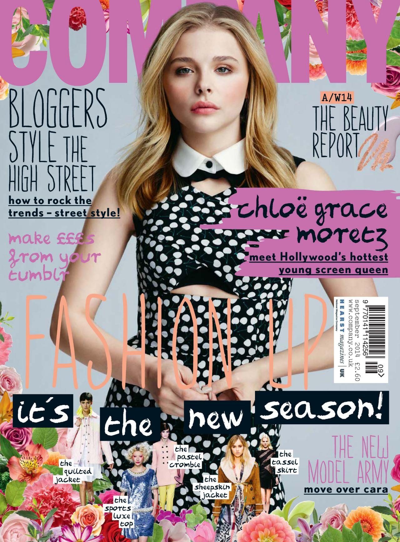 Chloe Moretz - Company Magazine (UK) - September 2014 Issue