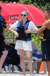 Chloe Moretz Jetskiing at the Beach in Miami - August 2014