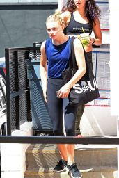 Chloe Moretz Leaving SoulCycle in Los Angeles August - August 2014
