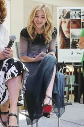 Chloe Moretz - Q&A Promoting