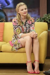 Chloe Moretz – Univision's 'Despierta America' Morning Show in Miami – August 2014