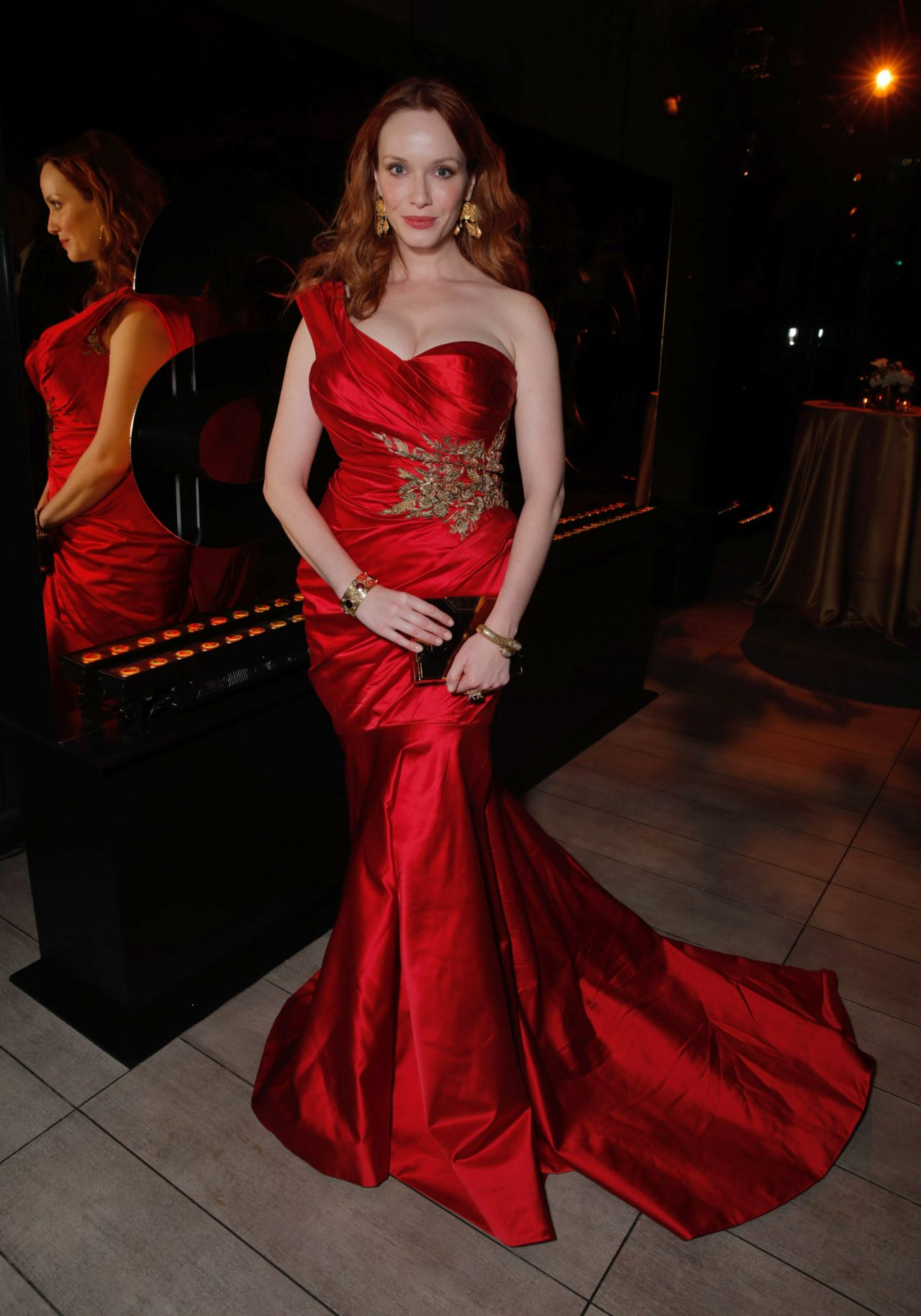 Christina Hendricks – AMC, IFC & Sundance Channel's Emmy 2014 Party