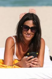Claudia Romani Hot in Bikini - Miami Beach, August 2014