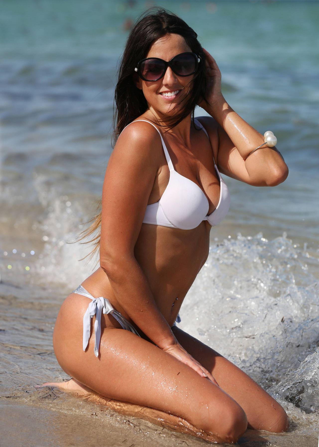 Claudia Romani Hot In Bikini Miami Beach August 2014