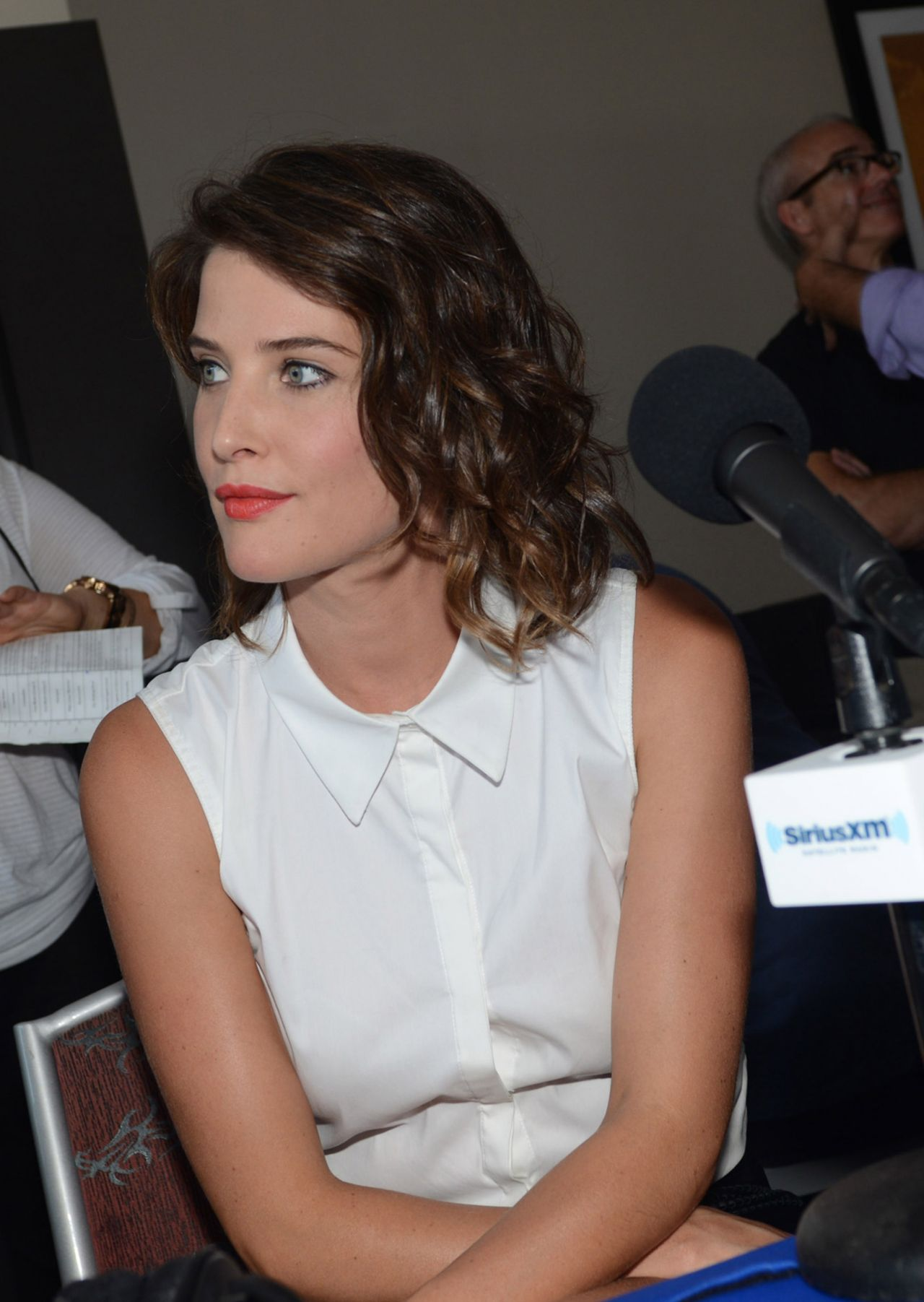 Cobie Smulders - SiriusXM Broadcasts from SDCC 2014