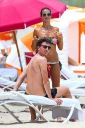 Cristina De Pin Bikini Candids - Miami, August 2014