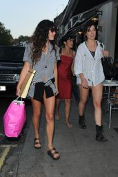 Daisy Lowe & Eliza Doolittle - Lemonia Restaurant in Primrose Hill, London