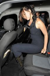 Daisy Lowe Night Out Style - Nick Grimshaw