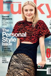 Dakota Fanning - Lucky Magazine - September 2014 Issue