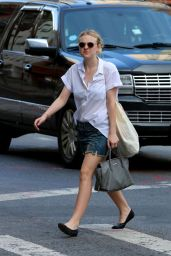 Dakota Fanning Out in New York City - Aug. 2014