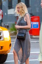 Dakota Fanning - Out in NYC, August 2014