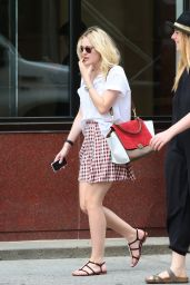 Dakota Fanning - Out in SoHo in NYC - Aug. 2014