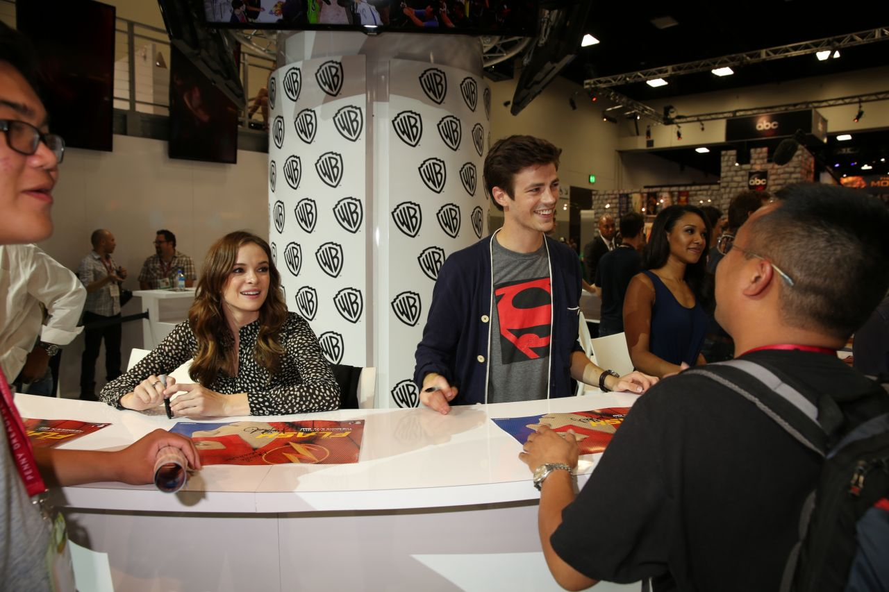 Danielle Panabaker - Warner Bros. at SDCC 2014