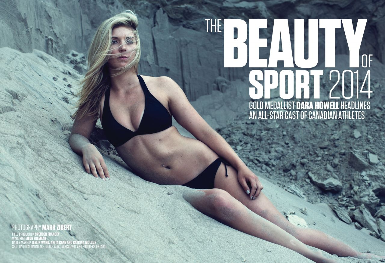 Dara Howell – Sportsnet Magazine (Canada) – August 18, 2014