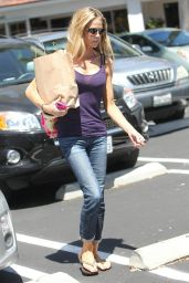 Denise Richards Shopping with a Friend in Los Angeles - August 2014