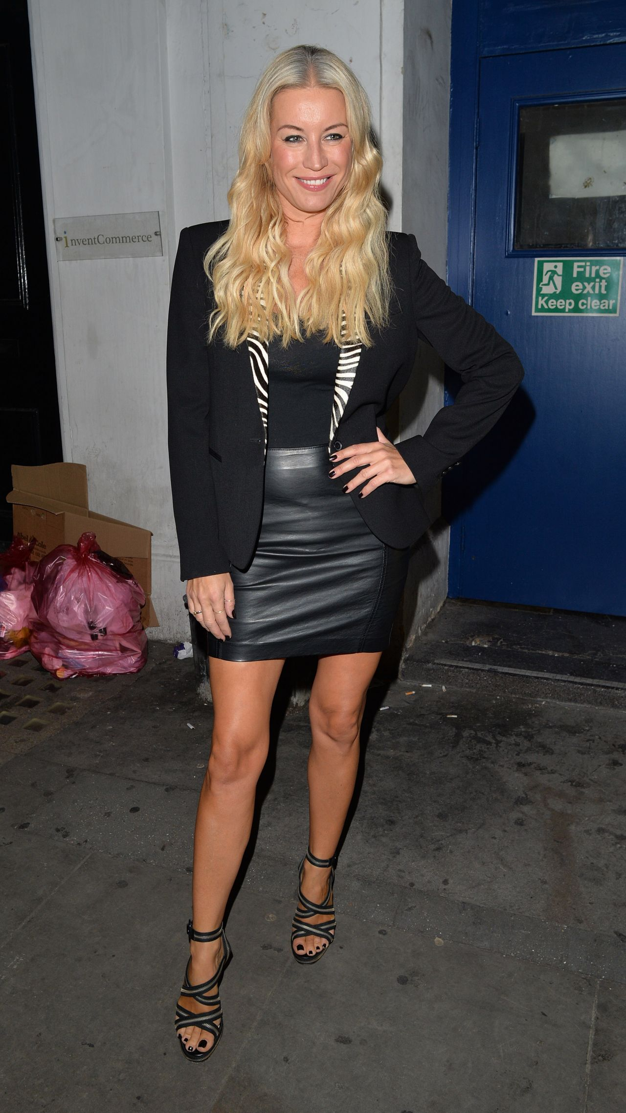 Denise Van Outen Style - Leaving The Arts Theatre In -3786