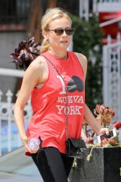 Diane Kruger Goes to the Gym Pop Physique in Los Angeles - August 2014