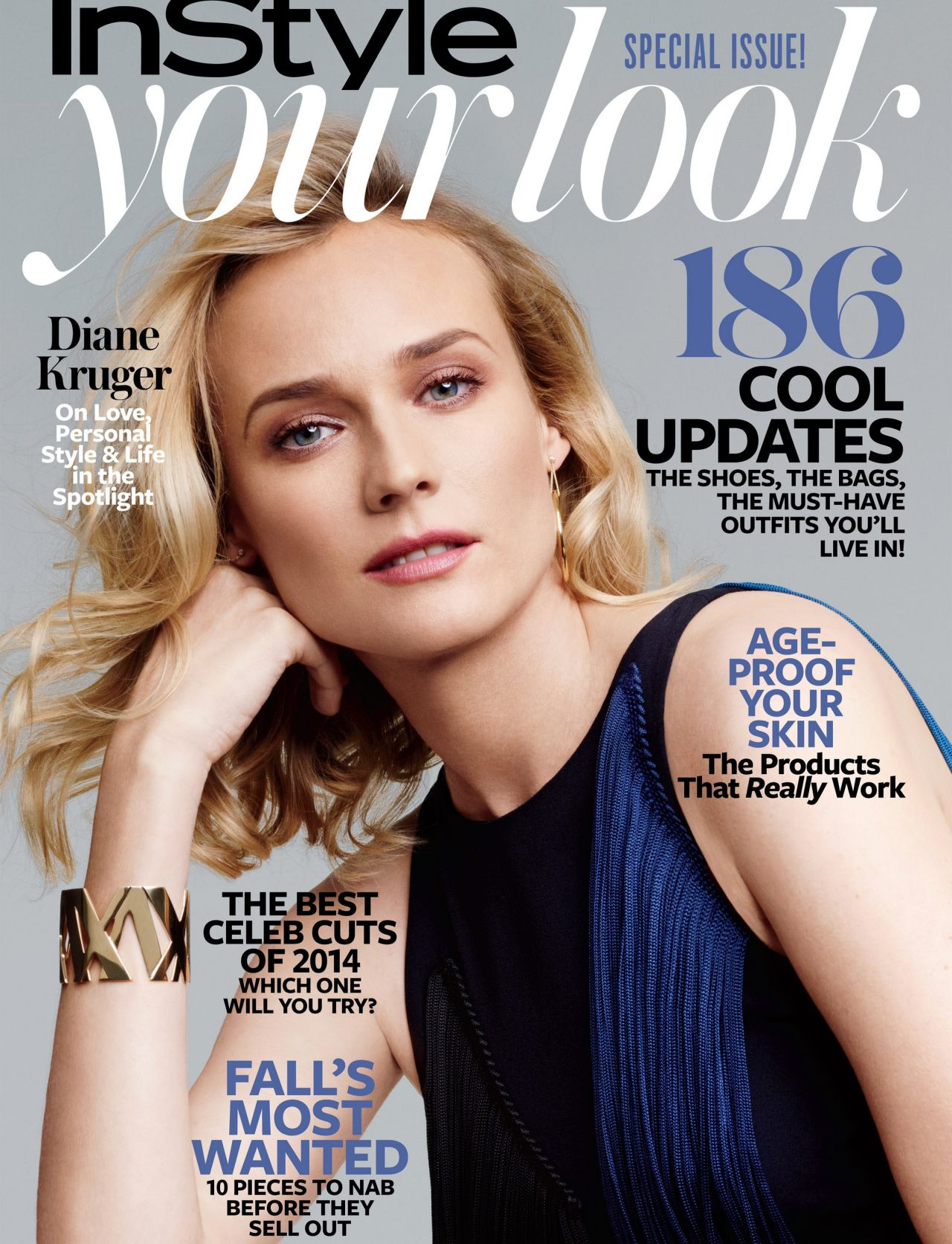 Diane Kruger - InStyle Magazine - Your Look Special (August 2014 Cover)