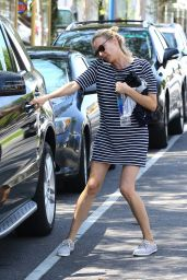 Diane Kruger - Leaving a Yoga Studio in West Hollywood - August 2014