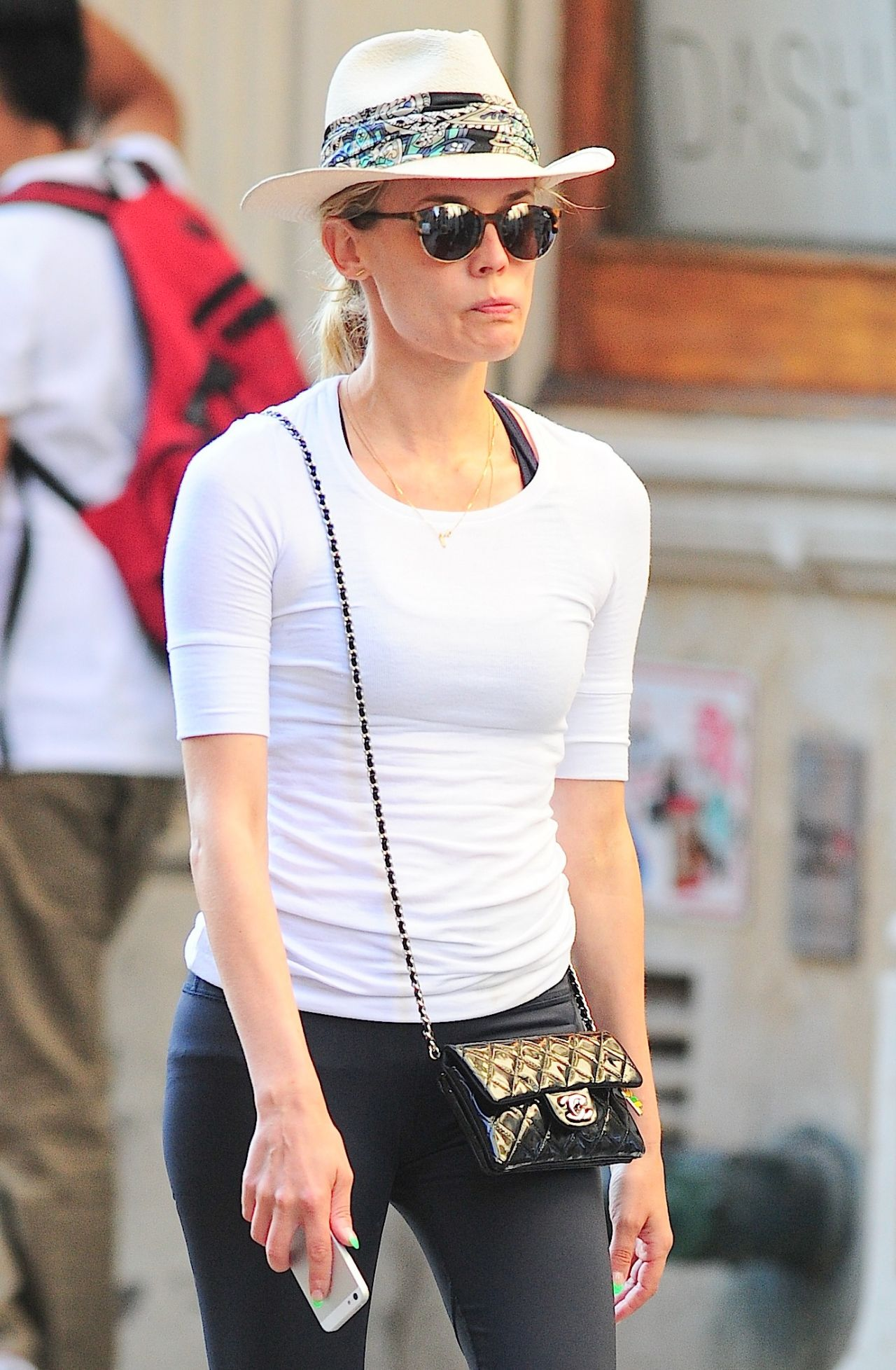 Diane Kruger - Out in New York City - August 2014