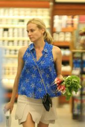 Diane Kruger - Shopping at the Gelsons in Los Feliz - August 2014