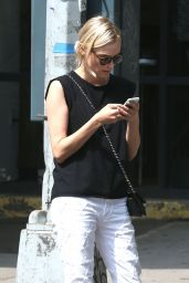 Diane Kruger Street Style - Out in New York City, Aug. 2014