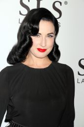 Dita Von Teese at SLS Las Vegas Grand Opening Celebration