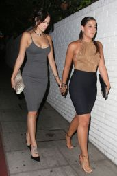 Eiza Gonzalez Night Out Style - Leaving the Chateau Marmont in West Hollywood - August 2014