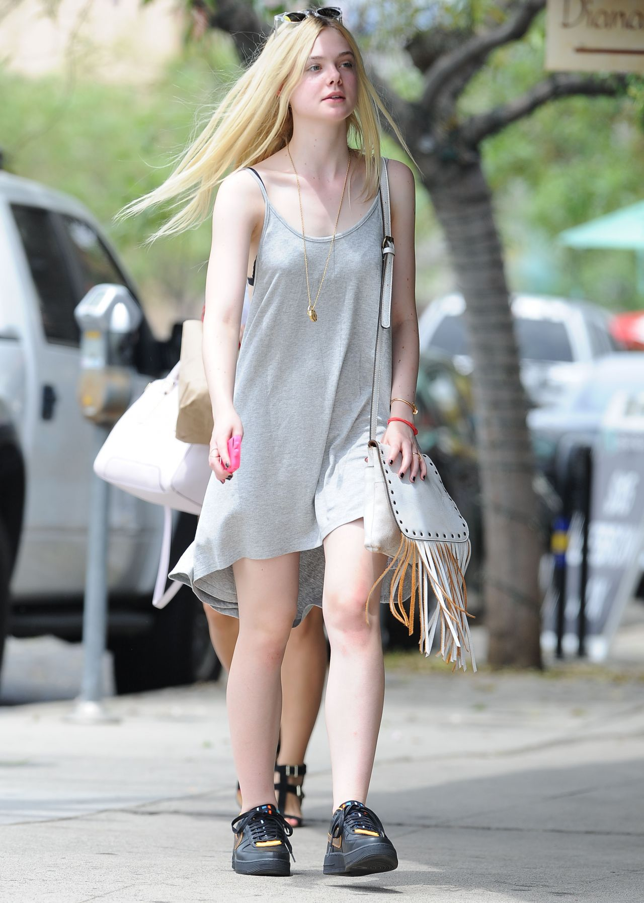 Elle Fanning - Out in Los Angeles, August 2014