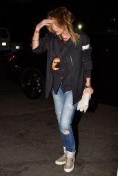 Ellen Pompeo - Leaves The Rihanna Concert - August 2014