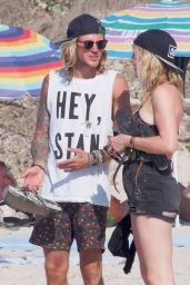 Ellie Goulding With Her Boyfriend on Holiday in Formentera (Spain) - August 2014