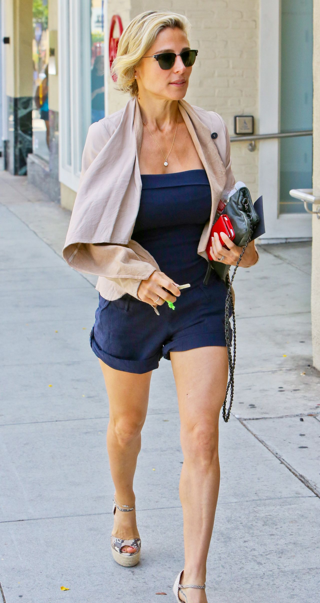 Elsa Pataky Hot Legs - Shopping In Beverly Hills - August 2014-9365