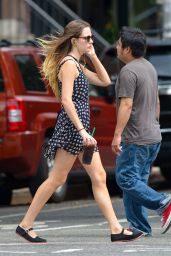 Emily Meade - Out in Manhattan - August 2014