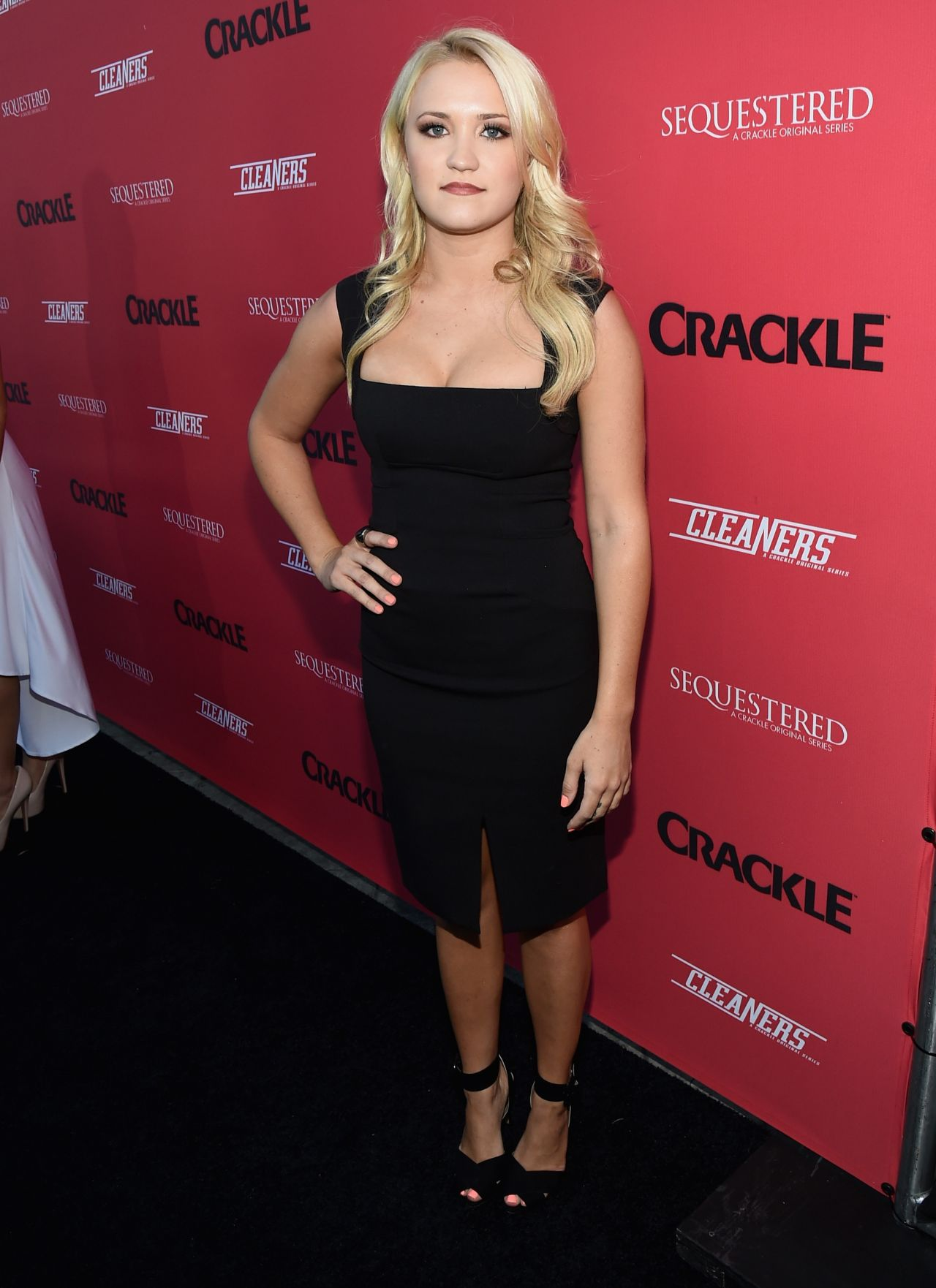 Emily Osment Crackle Sequestered Amp Cleaners Premieres In