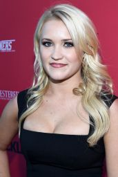 Emily Osment - Crackle Sequestered & Cleaners Premieres in West Hollywood - Aug. 2014