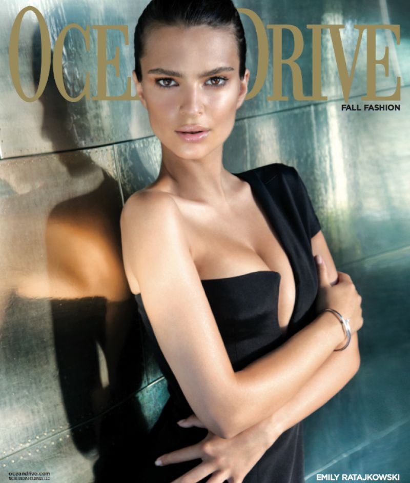 Emily Ratajkowski - Ocean Drive Magazine - Fall 2014 Issue