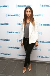 Emmanuelle Chriqui at SiriusXM Studios in New York City - August 2014